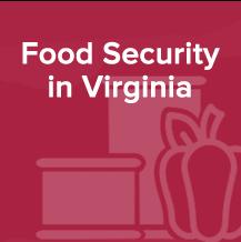 Food Security in Virginia